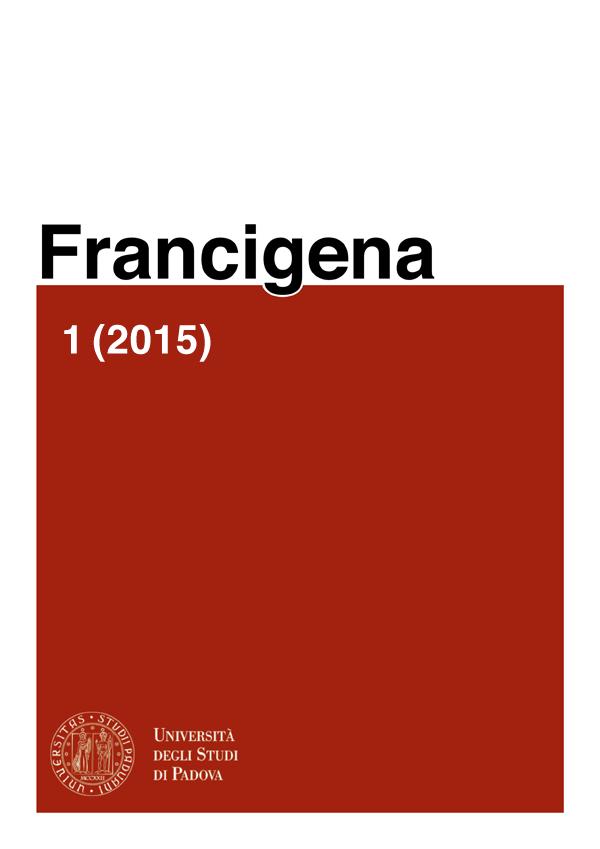 Copertina Francigena I (2015)